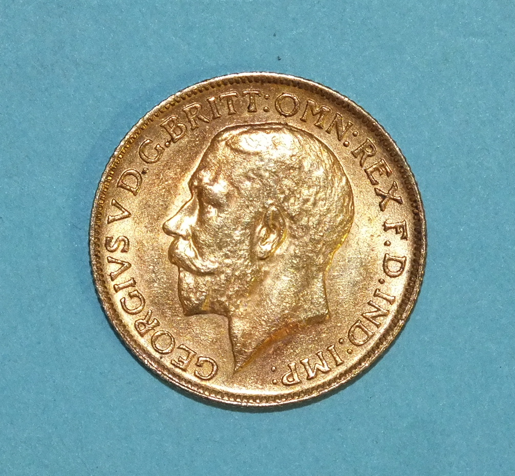 Lot 263 - A 1911 sovereign.