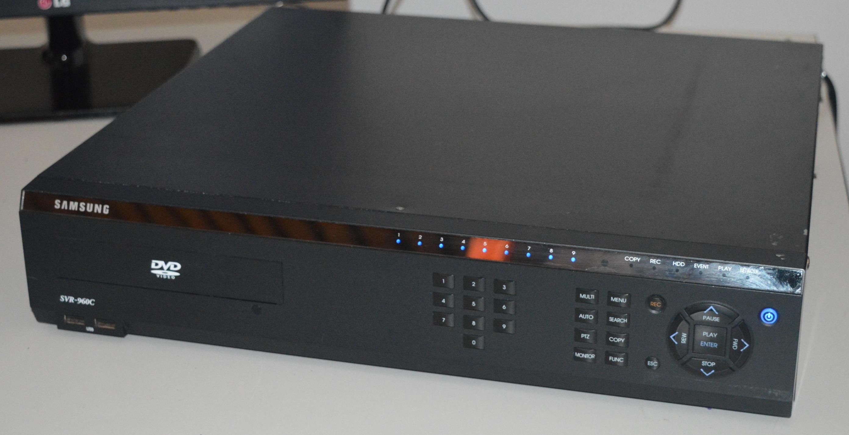 1 x samsung cctv digital video recorder svr 960c 5tb hard drive rh bidspotter co uk Samsung SCH U960 Samsung Rogue Apps