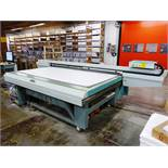 """OCE """"ACUITY ADVANCE HS"""" Flatbed Inkjet Printing Press, 5-Color, 100"""" Capacity x 58"""""""