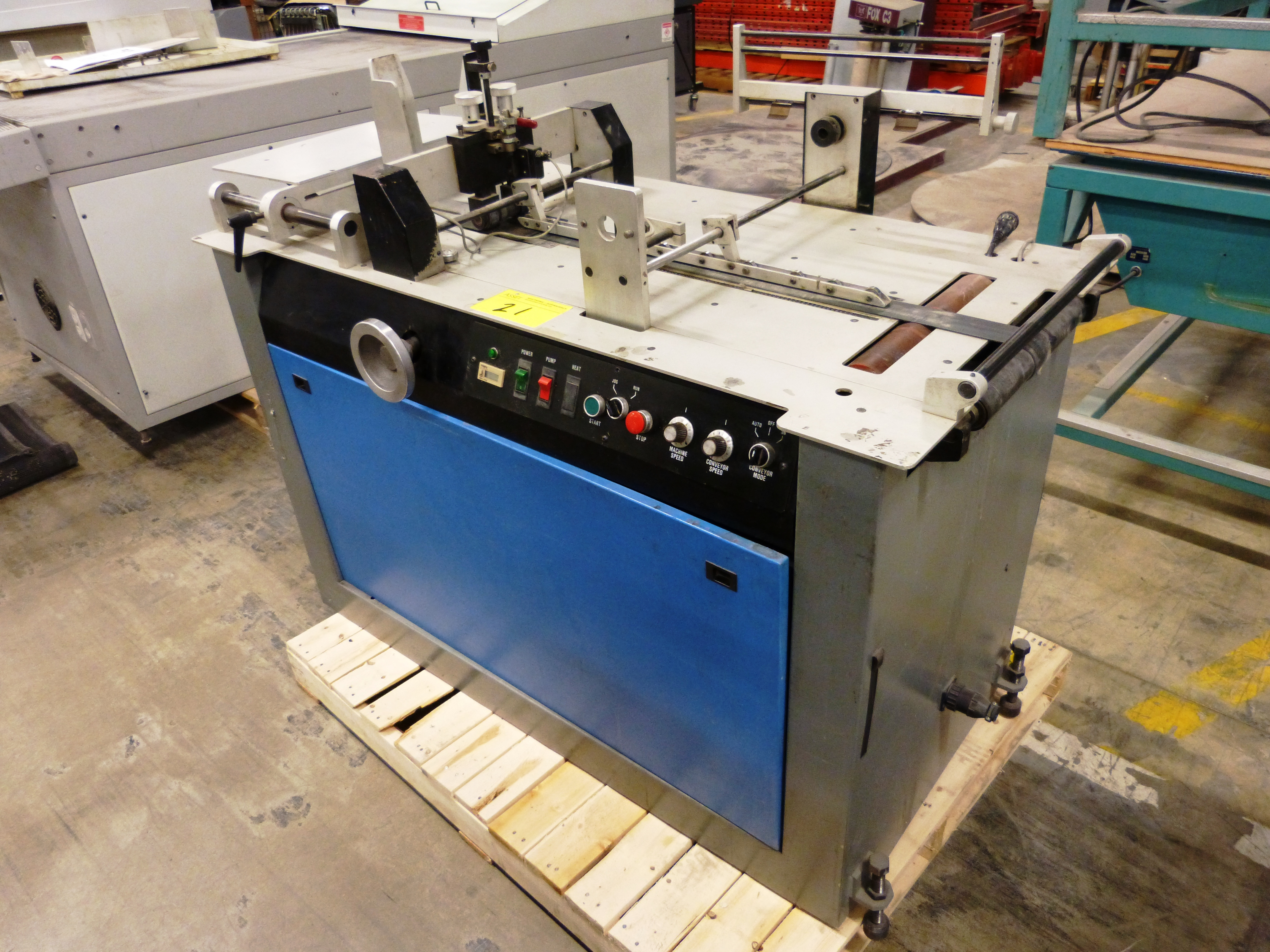 "Lot 21 - BUSKRO ""10F"" Addressing Machine"