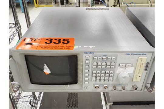 Choice of lots: 335, 336 } } BOONTON 4400A RF PEAK POWER METER