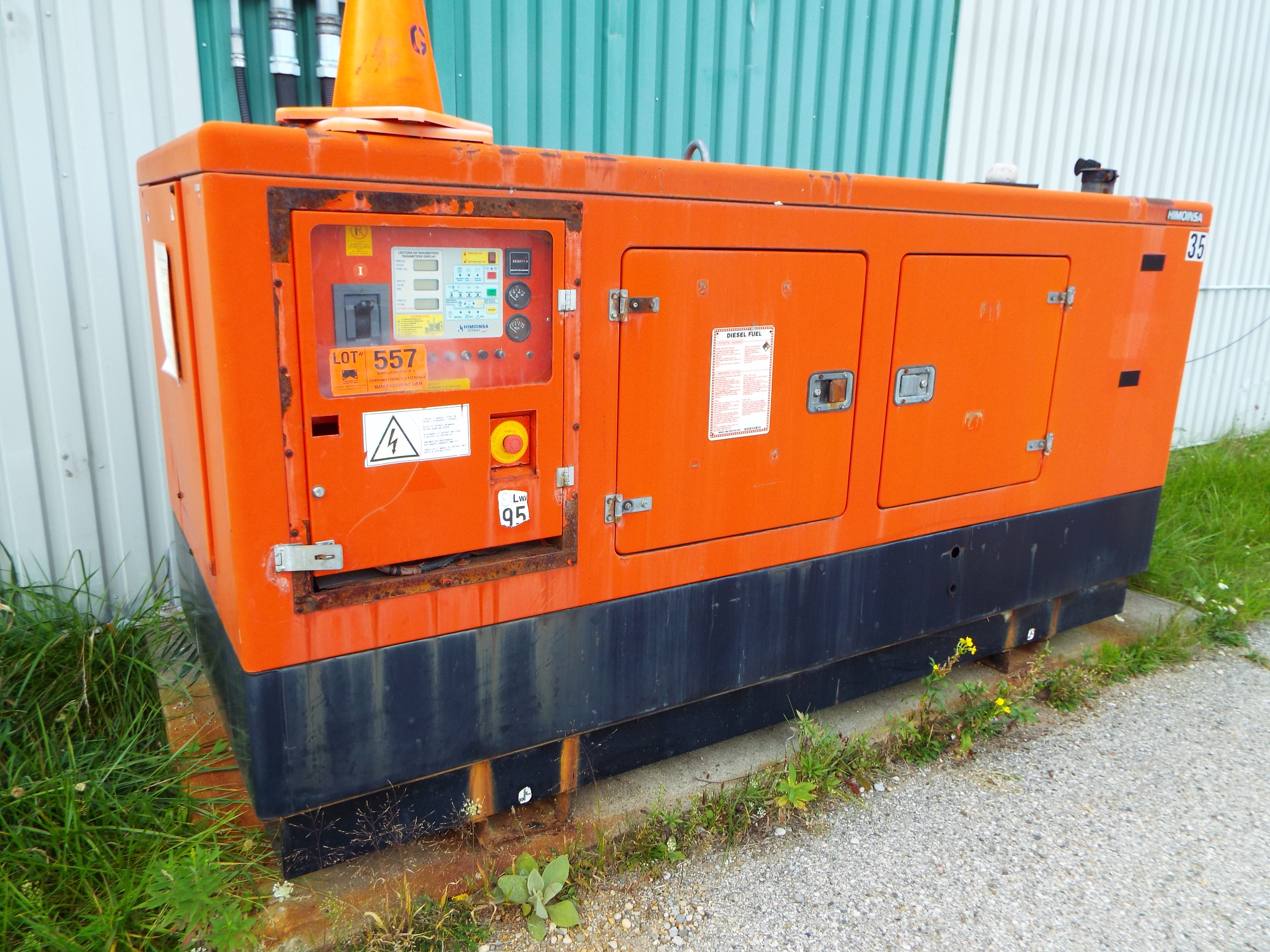 HIMOINSA GPO EST INS 1800 G CE DIESEL STANDBY GENERATOR WITH