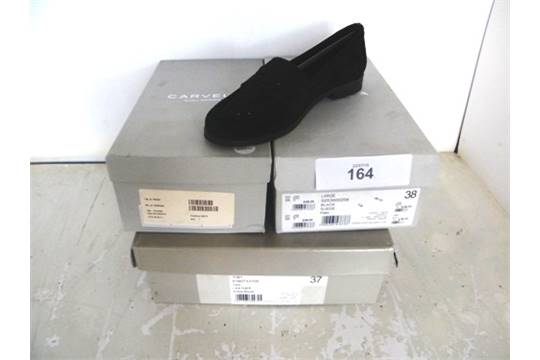 939582d9e827 3 x pairs of ladies Carvela shoes in assorted styles and sizes - New in box