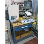 (5) Steel Frame Butcher Block Top Tables