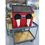 Central Pneumatic Blast Cabinet, Bench Top,