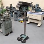 Meddings Model DTF Floor Standing Pillar Drill. Spindle Speeds 500 - 4000rpm.