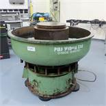 PDJ Circular Vibratory Bowl Finisher. Size 1300mm Diameter. Through Size 300mm. Bowl Height 950mm.