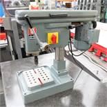 "Worner Type B4 High Speed Bench Drill. Drill Chuck Capacity 0 - 5/32""."
