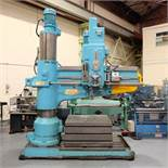 """Kitchen & Wade Type E27 6' Radial Arm Drill. Arm Radius 72"""". Distance From Spindle to Base 65""""."""