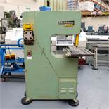 """Startrite 20 RWS Vertical Bandsaw. Throat 20"""". Daylight 10"""". Table size 20 1/2"""" x 20 1/2""""."""