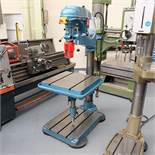 """Meddings Type A10 Articulated Arm Drilling Machine. Table Size 24"""" x 24""""."""