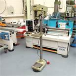 """Startrite Mercury 10 Speed Pillar Drill. 3 Morse Taper. Table 9"""" x 8""""."""