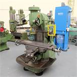"""Richmond No.3V Vertical Milling Machine. Spindle Taper 40 INT. Table Size 48"""" x 11""""."""