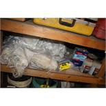 LARGE QTY OF FIBERBLASS REPAIR SUPPLIES