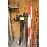 ASSORTED GRADE POLE MOUNTS & POLES