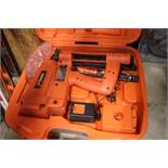 PASLODE CORDLESS UTILITY STAPLER IN CASE