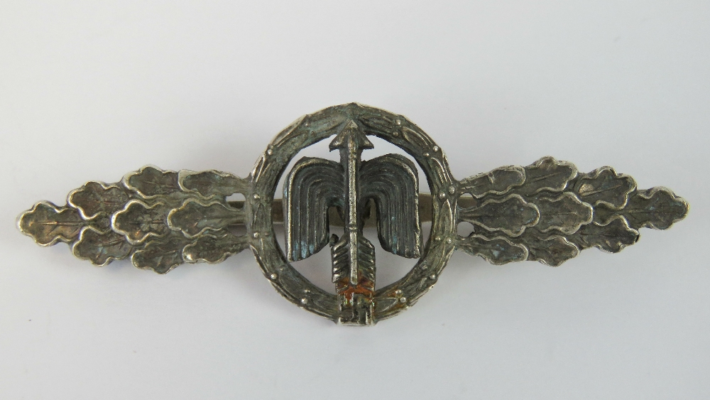 Lot 42 - A WWII German Luftwaffe Day Fighter clasp.