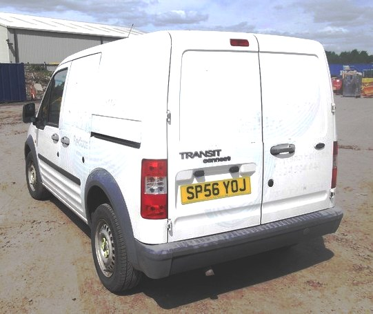 10 Ford Transit Connect 1 8tdci T200 Lwb: FORD TRAN CONNECT L 200 TD SWB