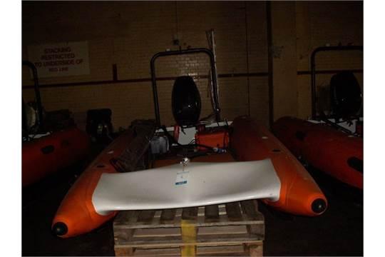 Boat: Sprite Rib, Tunnel Hull, Meggitt 40HP Two Stroke
