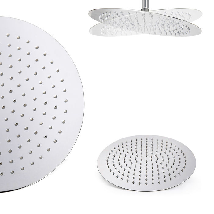 Lot 34 - (CP103) Stainless Steel 300mm Round Shower Head Solid metal structure Can be wall or ceiling mounted