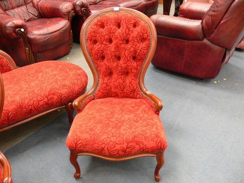 Reproduction salon suite comprising chaise longue 2 for Chaise longue salon