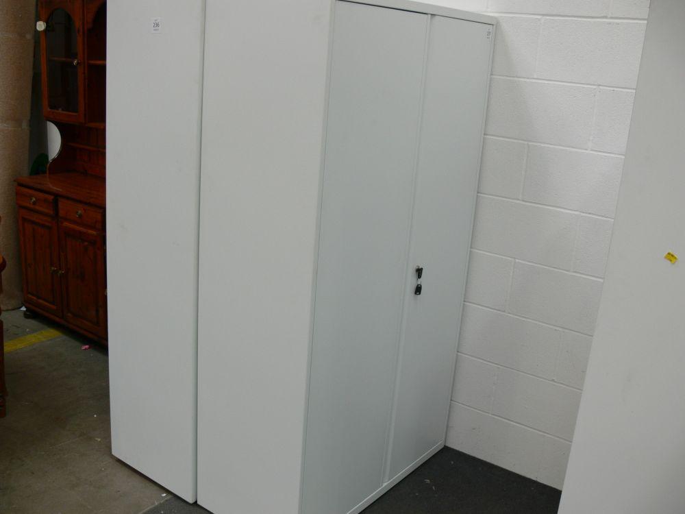 Tall double door cabinet 1000mm x 1800mm c w keys for 1000mm door