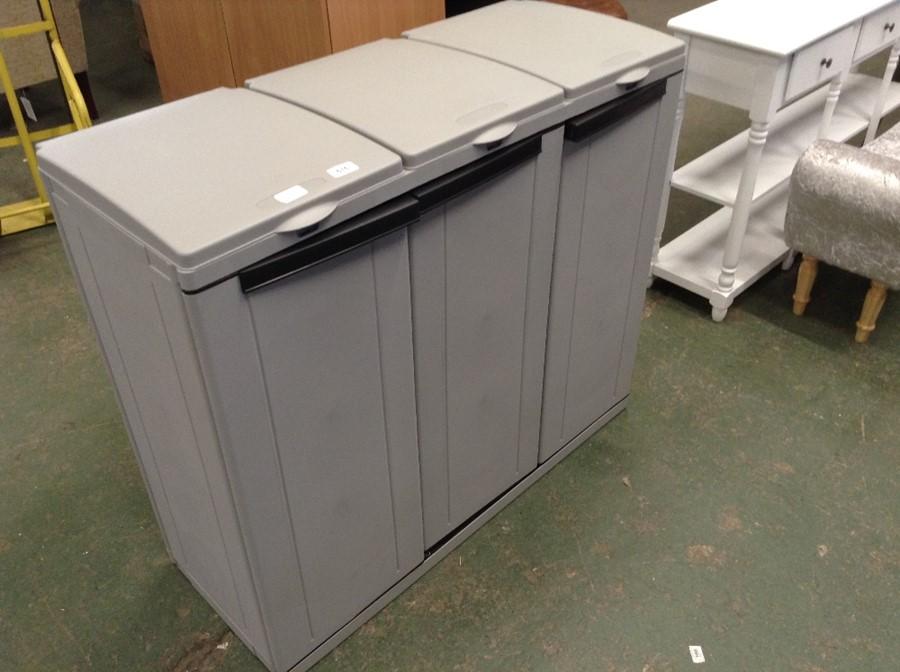 Symple Stuff,102 x 89 cm Mülltonnenbox aus Kunsts