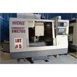 HARDINGE VMC (VERTICAL MACHINING CENTRE), MODEL VMC-700 CONQUEST, - LOCATION - MONTREAL, QUEBEC
