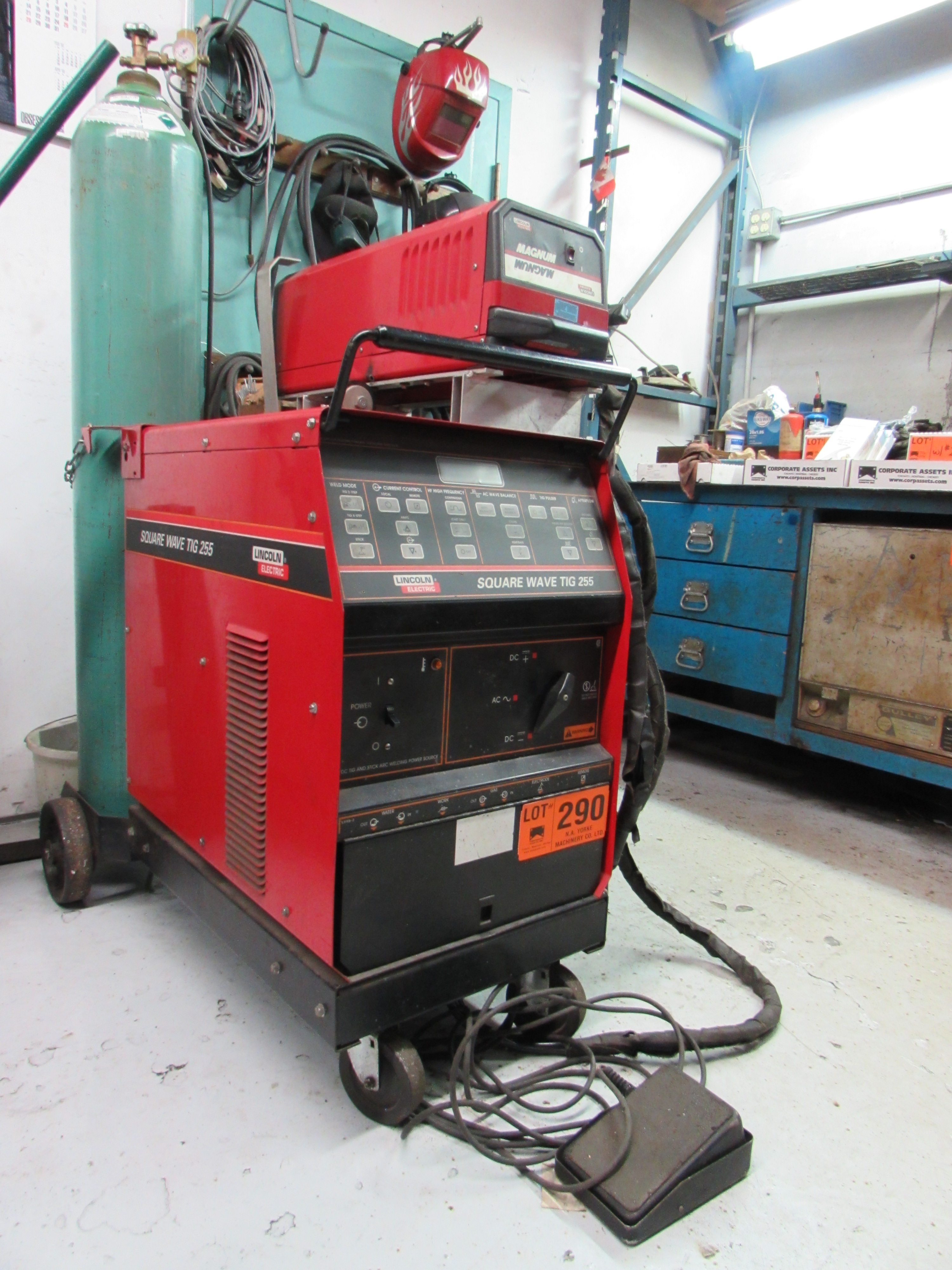 auction size lincoln pak welder electric in s window full new item weld mig