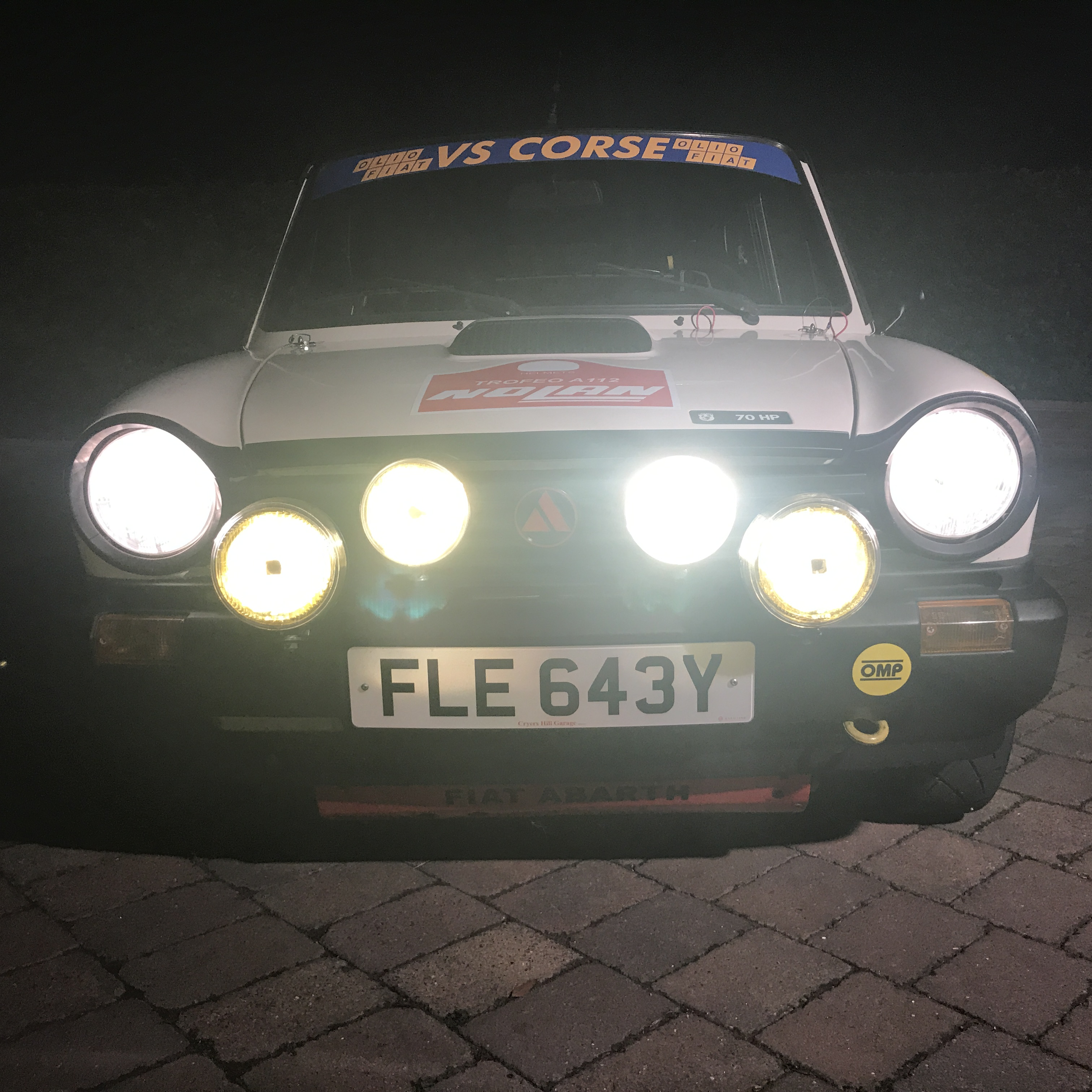 Autobianchi A112 Abarth Trofeo Trophy 1983 Purchases By