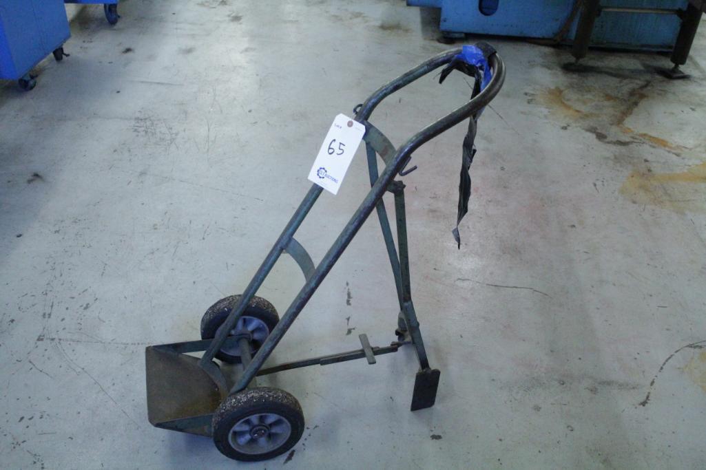 Lot 65 - Gas cylinder cart