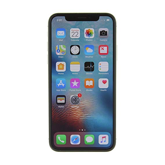 Lot 31738 - Grade A Apple iphone X 64GB Colours May Vary No Face ID Item available approx 12 working days after