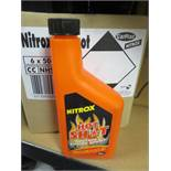 30 x NITROX 500ML HOT SHOT - PETROL POWER BOOST