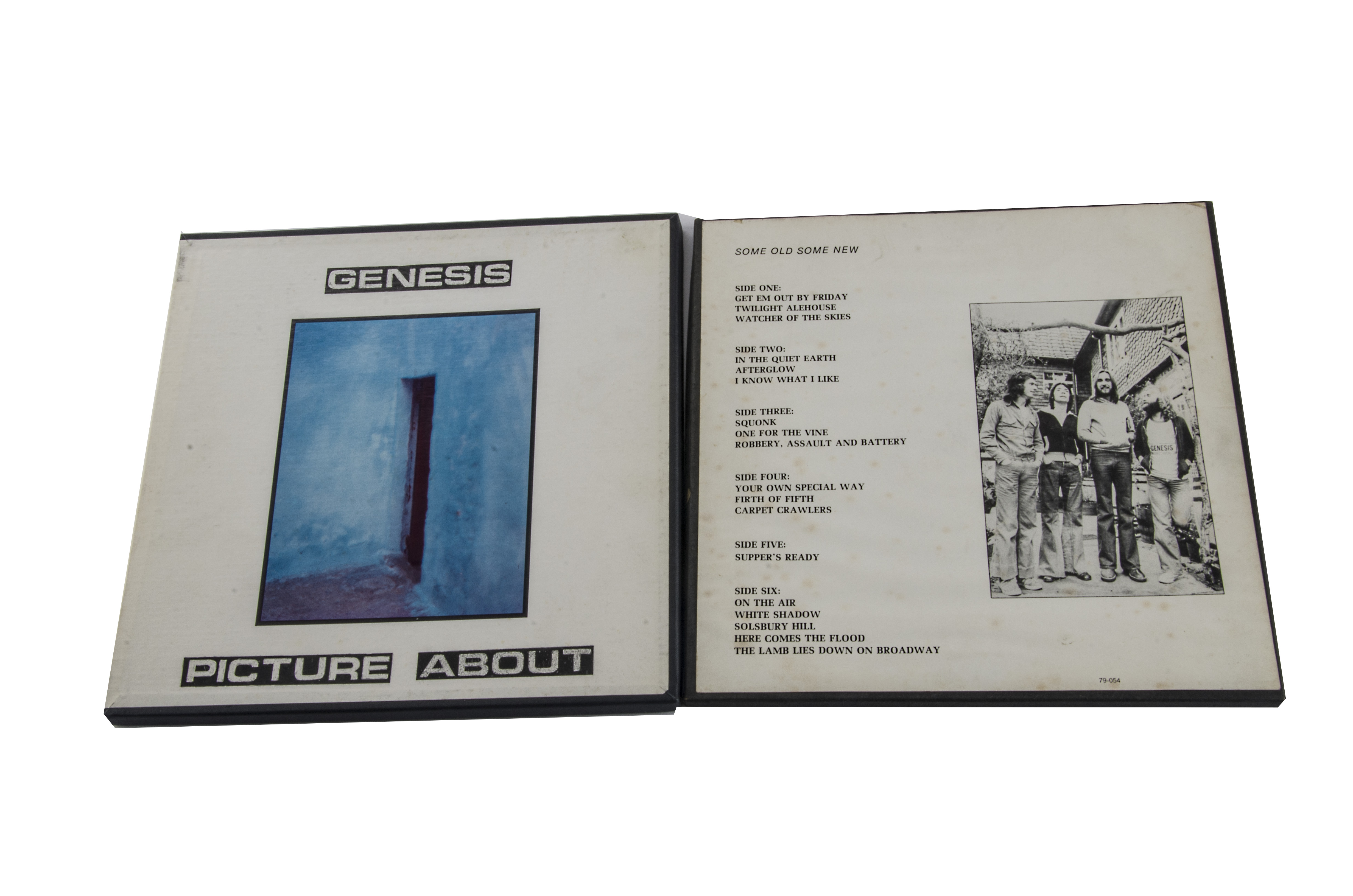 Genesis Box Sets, two triple album box sets comprising