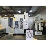 (10/2002) Mori Seiki SH5000/40 Horizontal CNC Machine Center w/ Mori Seiki MSG-50 CNC Controls,
