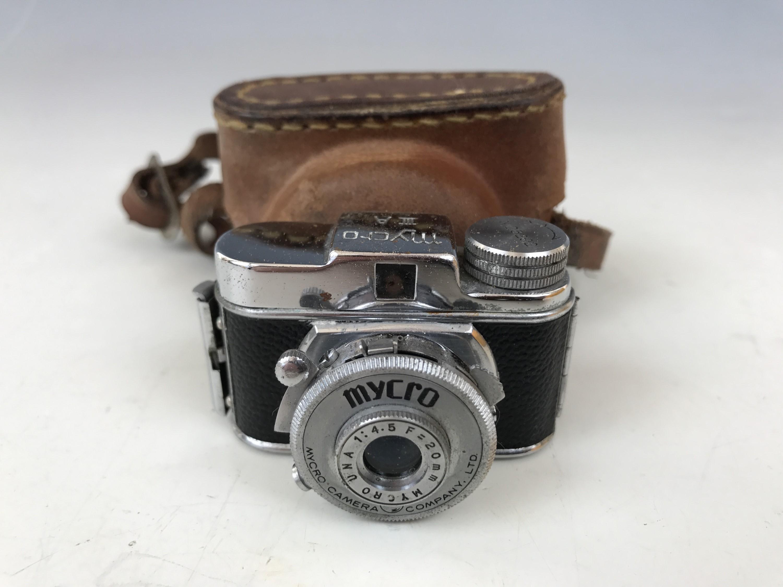 Lot 27 - A 1950s Mycro IIIA sub-miniature camera