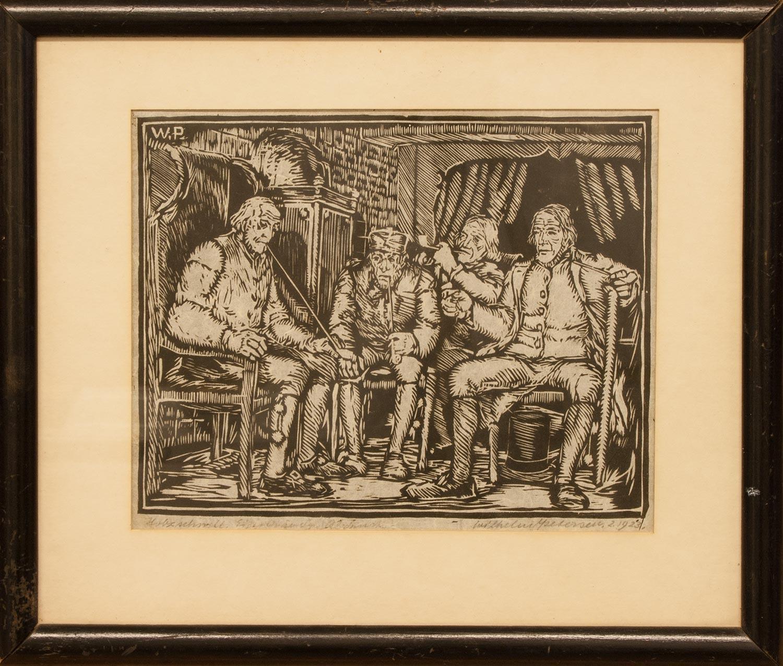 Maler Elmshorn wilhelm petersen elmshorn 1900 1987 ebenda maler illustrator u