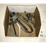 (3) Bearing Pullers
