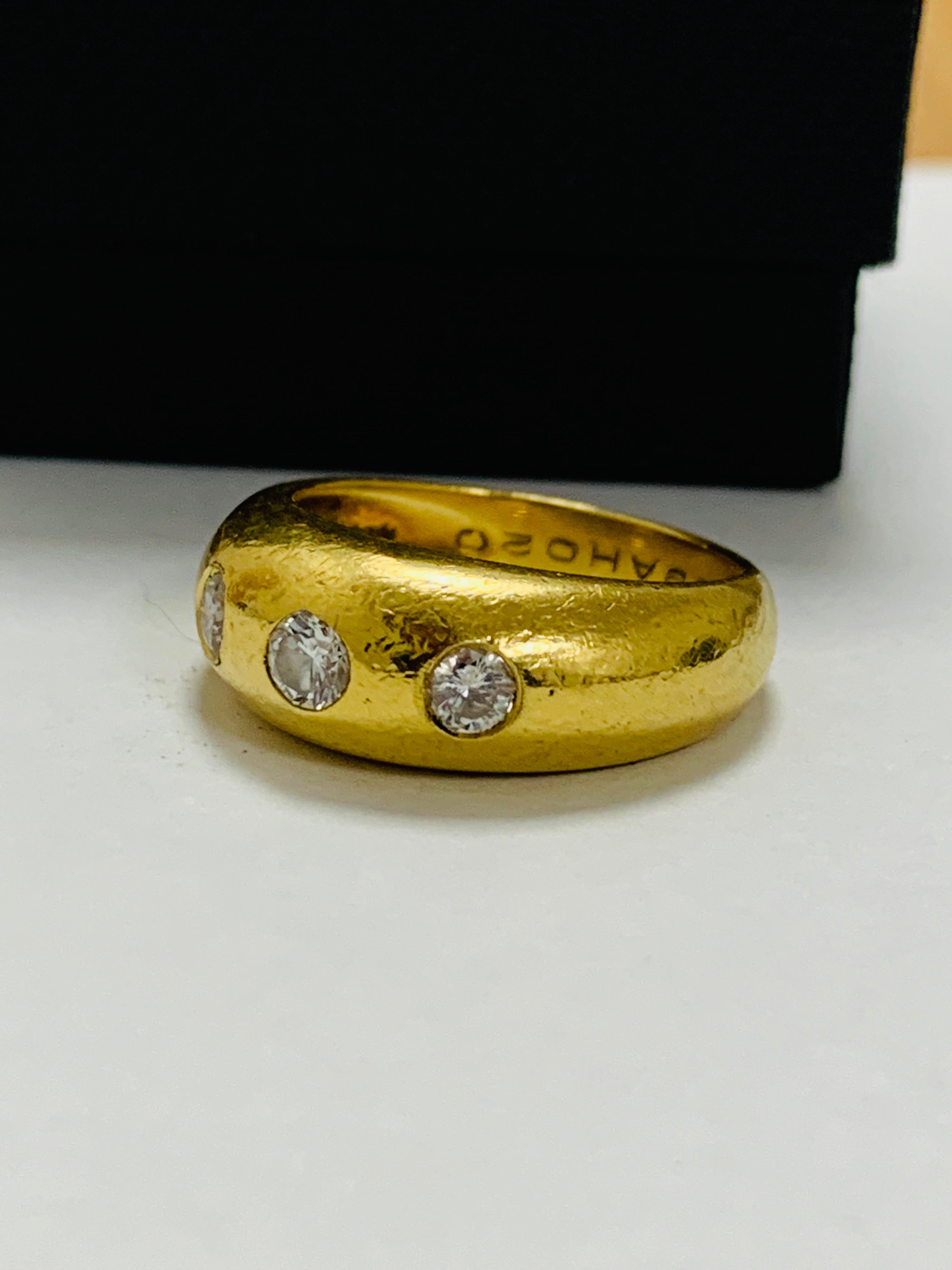 14ct white gold aquamarine & diamond pendant. - Image 12 of 14