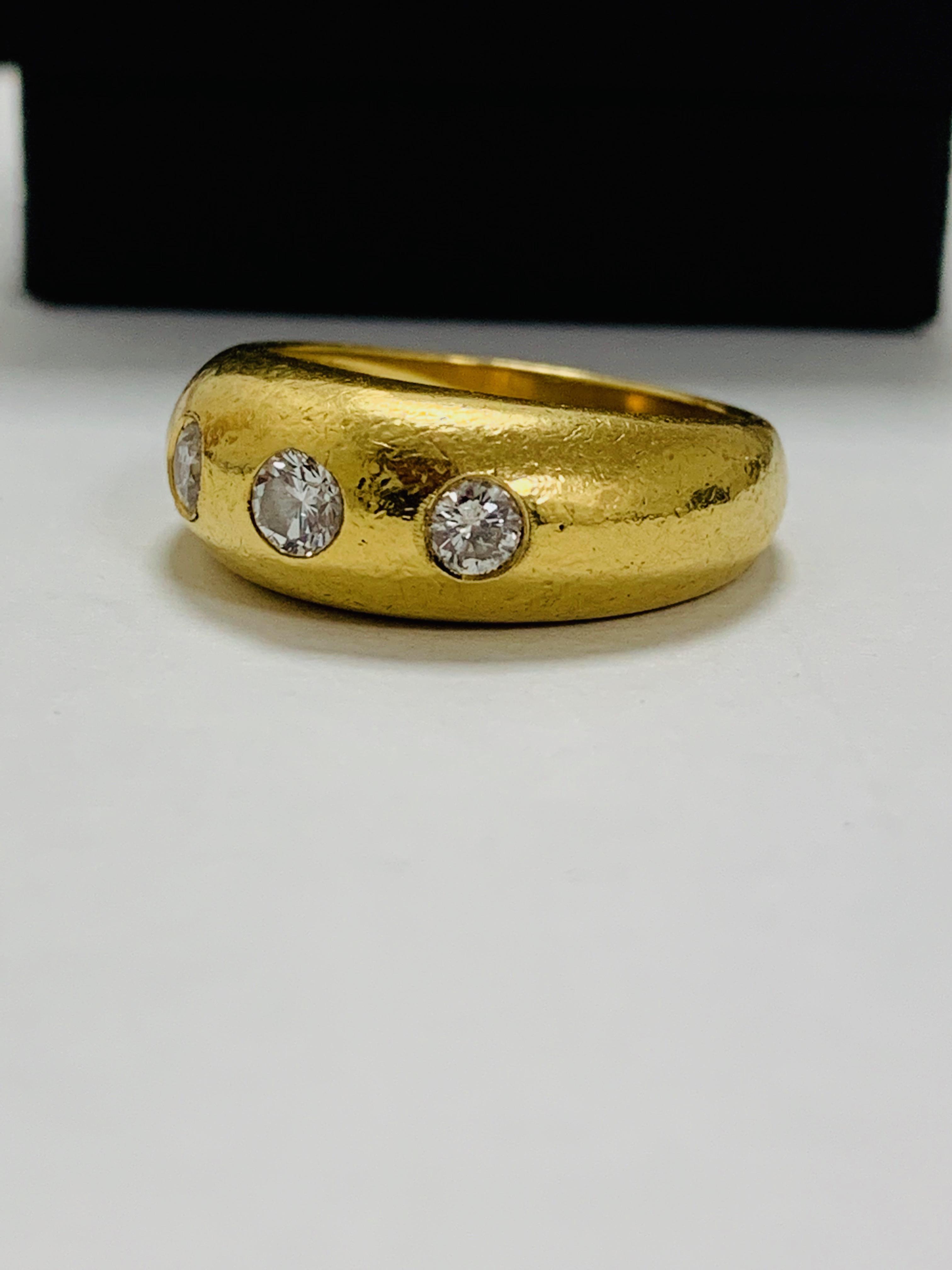 14ct white gold aquamarine & diamond pendant. - Image 2 of 14