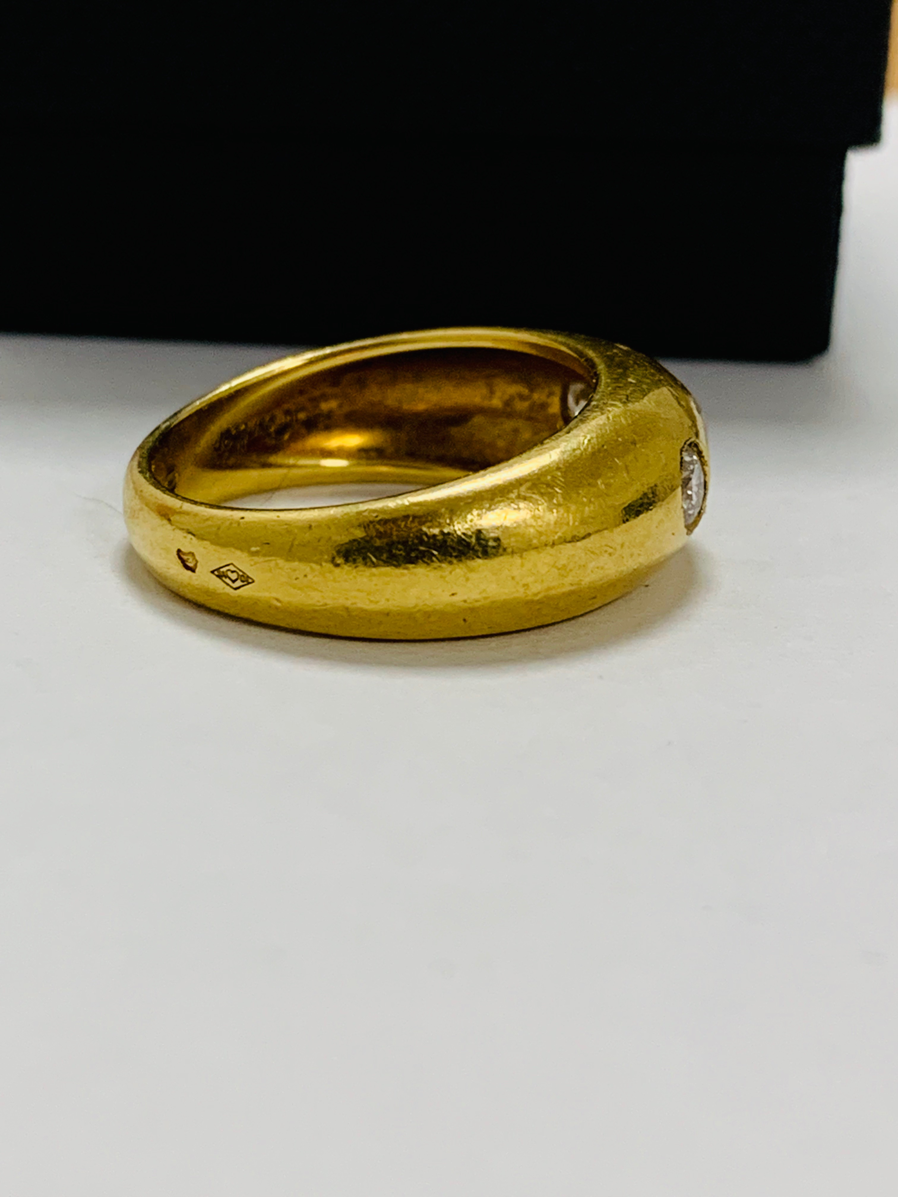 14ct white gold aquamarine & diamond pendant. - Image 8 of 14