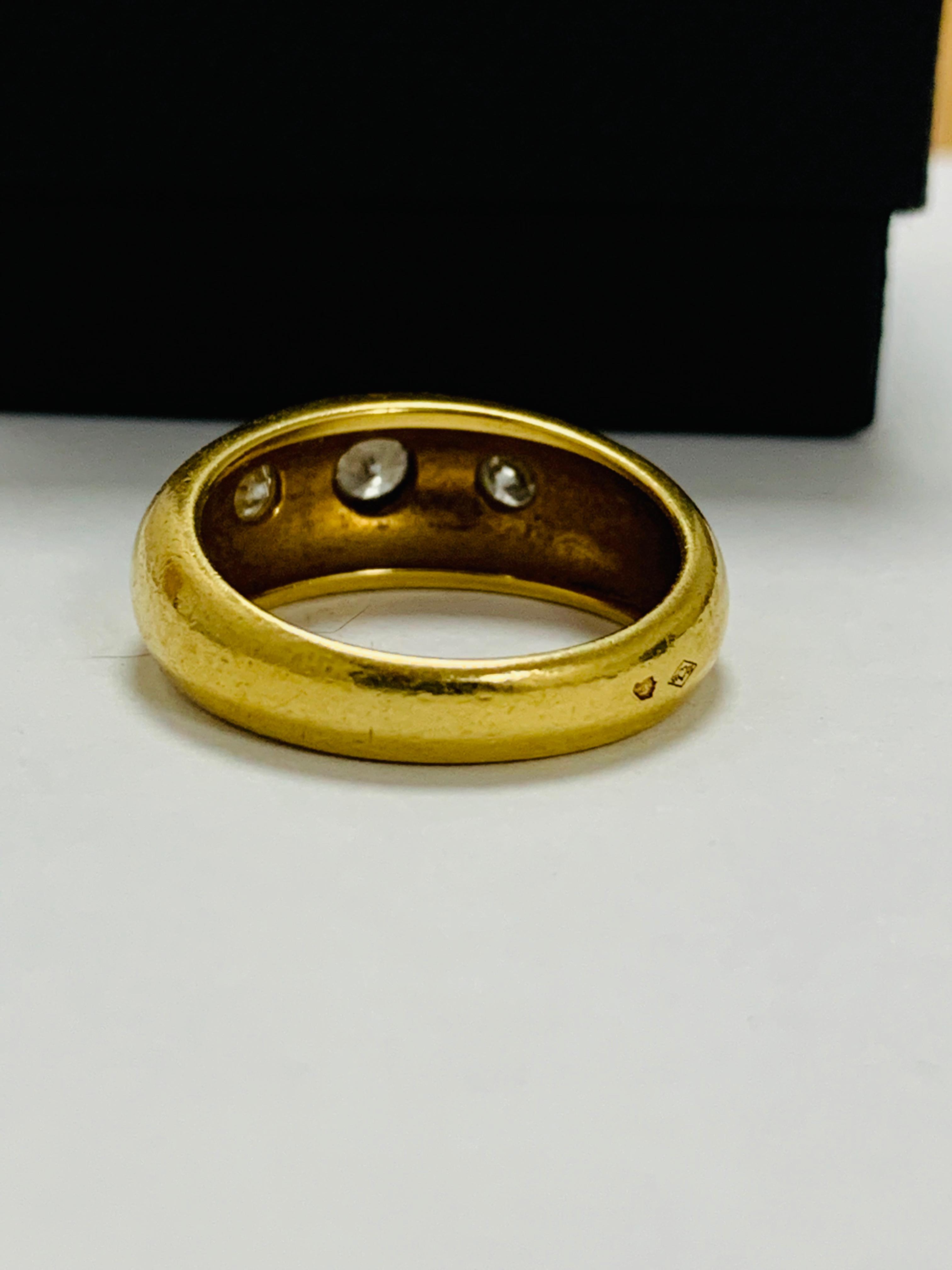 14ct white gold aquamarine & diamond pendant. - Image 6 of 14