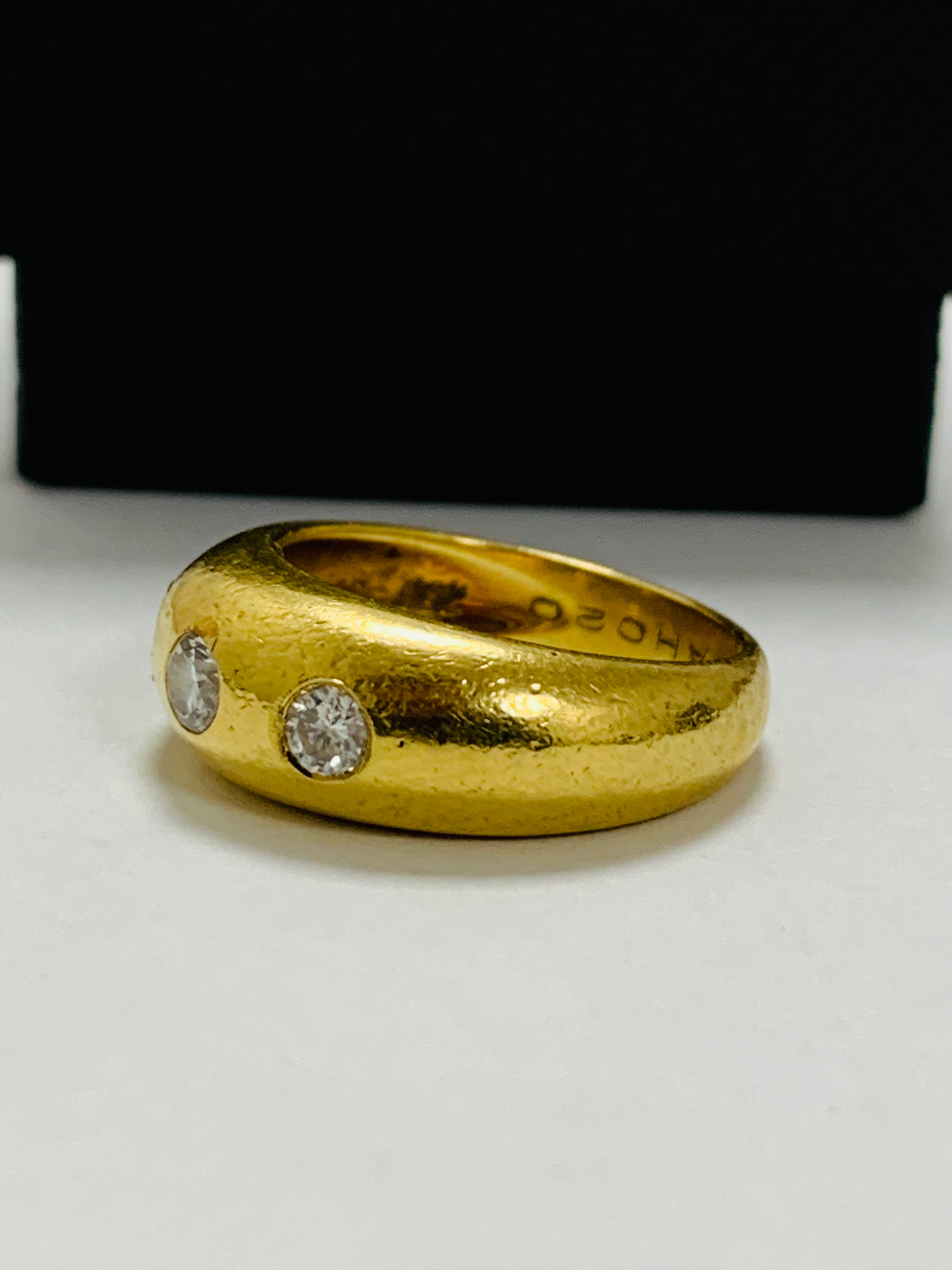 14ct white gold aquamarine & diamond pendant. - Image 4 of 14