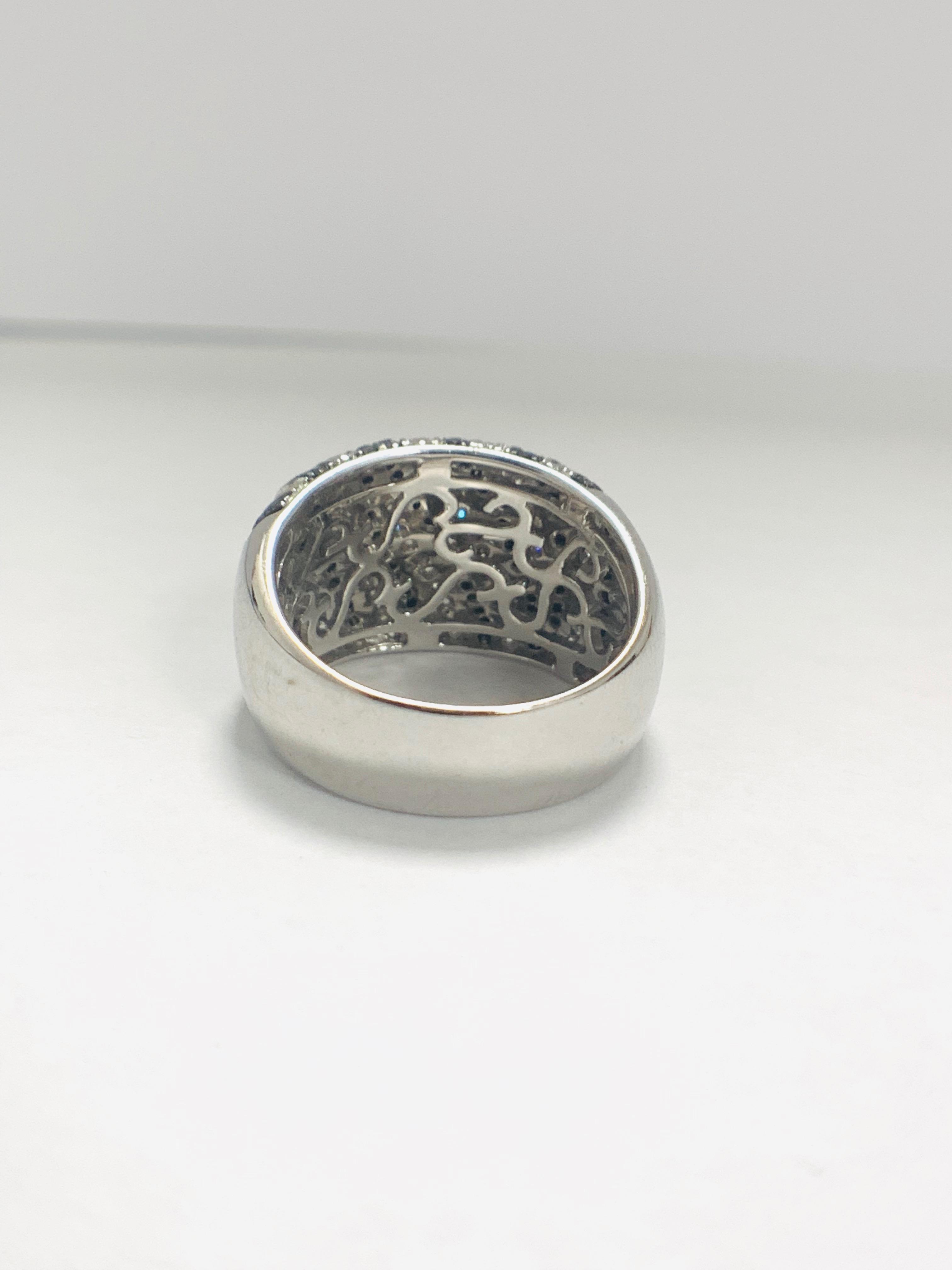 18ct White Gold Diamond ring - Image 5 of 14