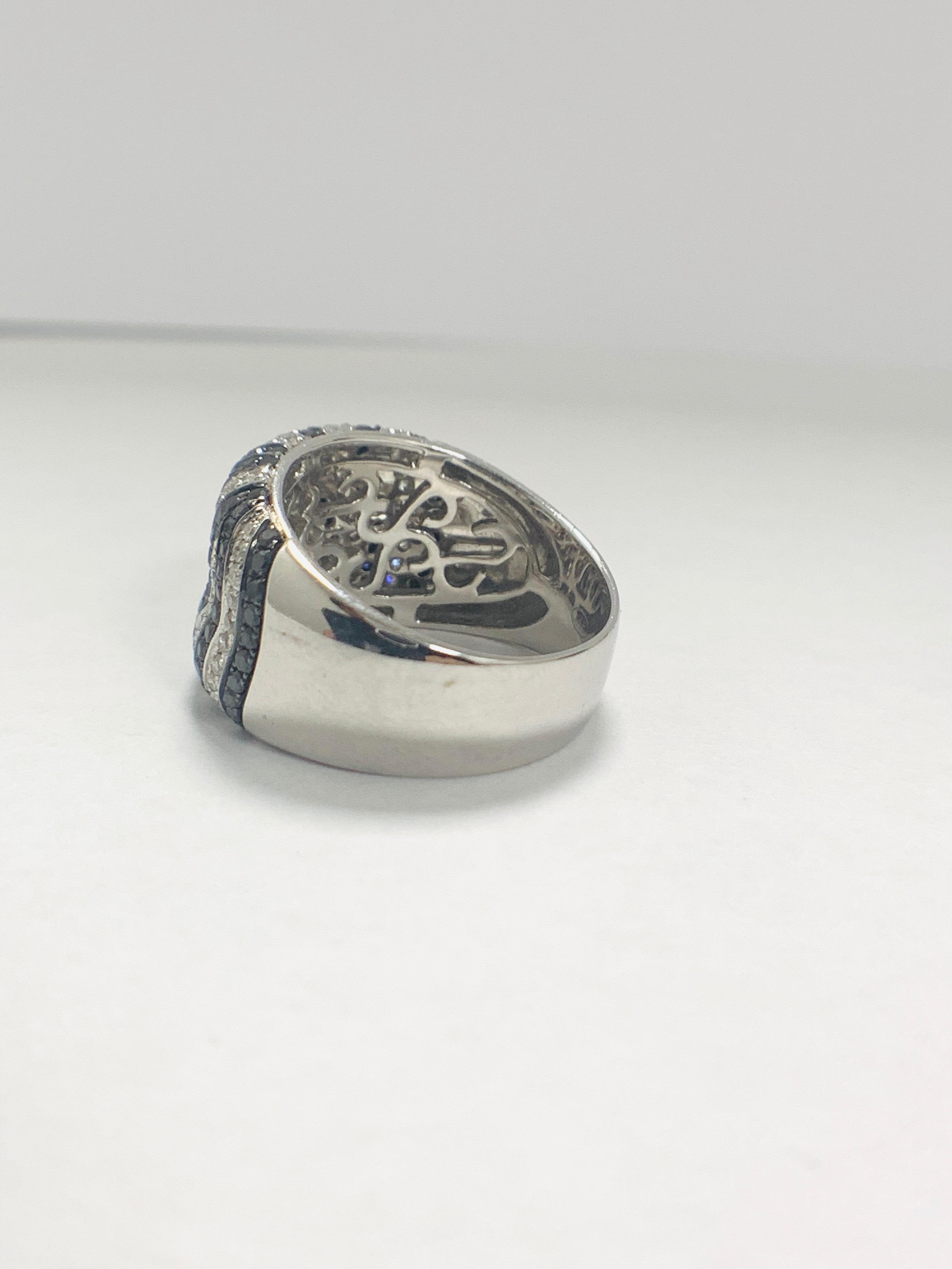 18ct White Gold Diamond ring - Image 4 of 14