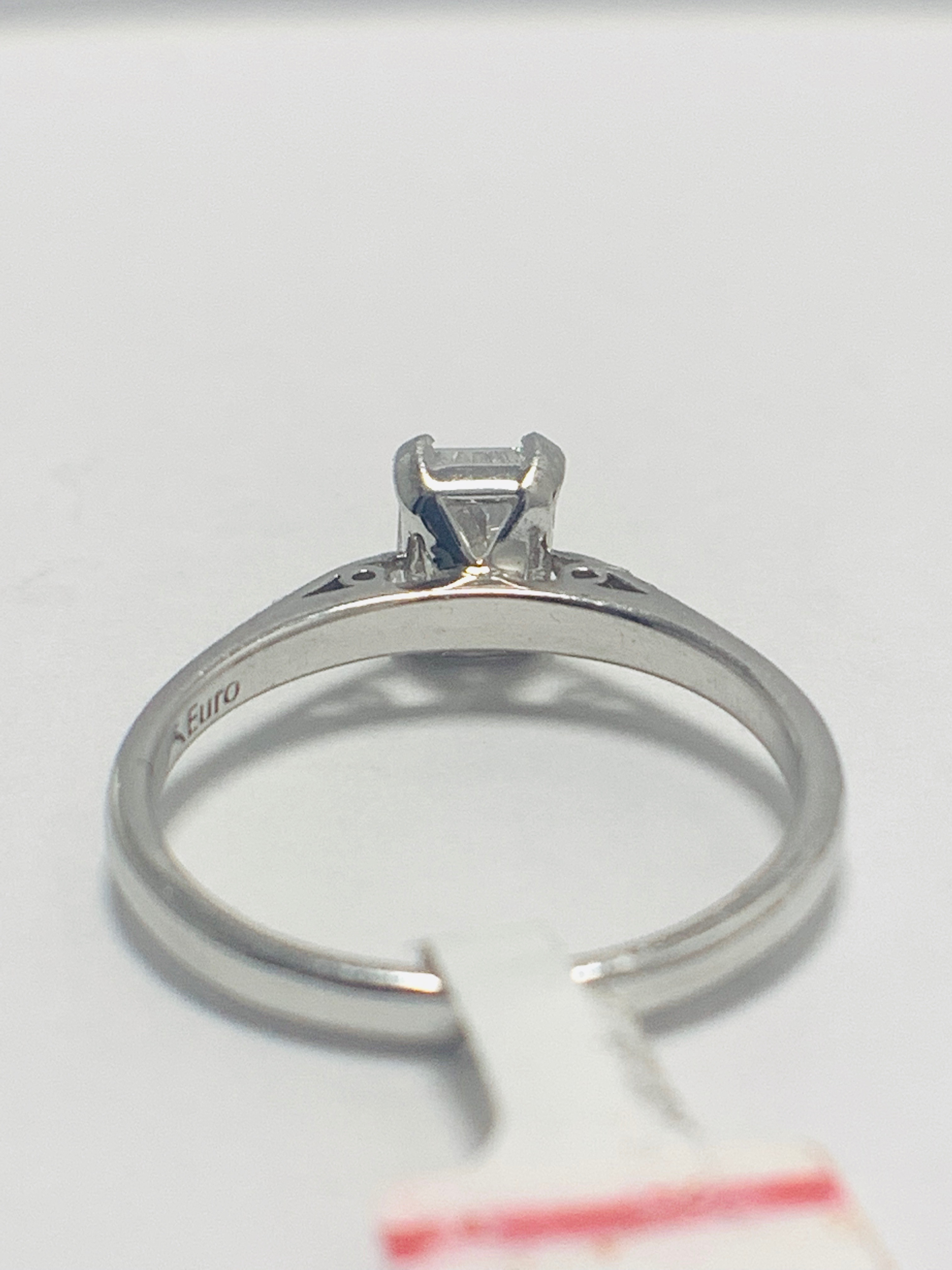 1ct Radiant cut natural diamond - Image 5 of 9