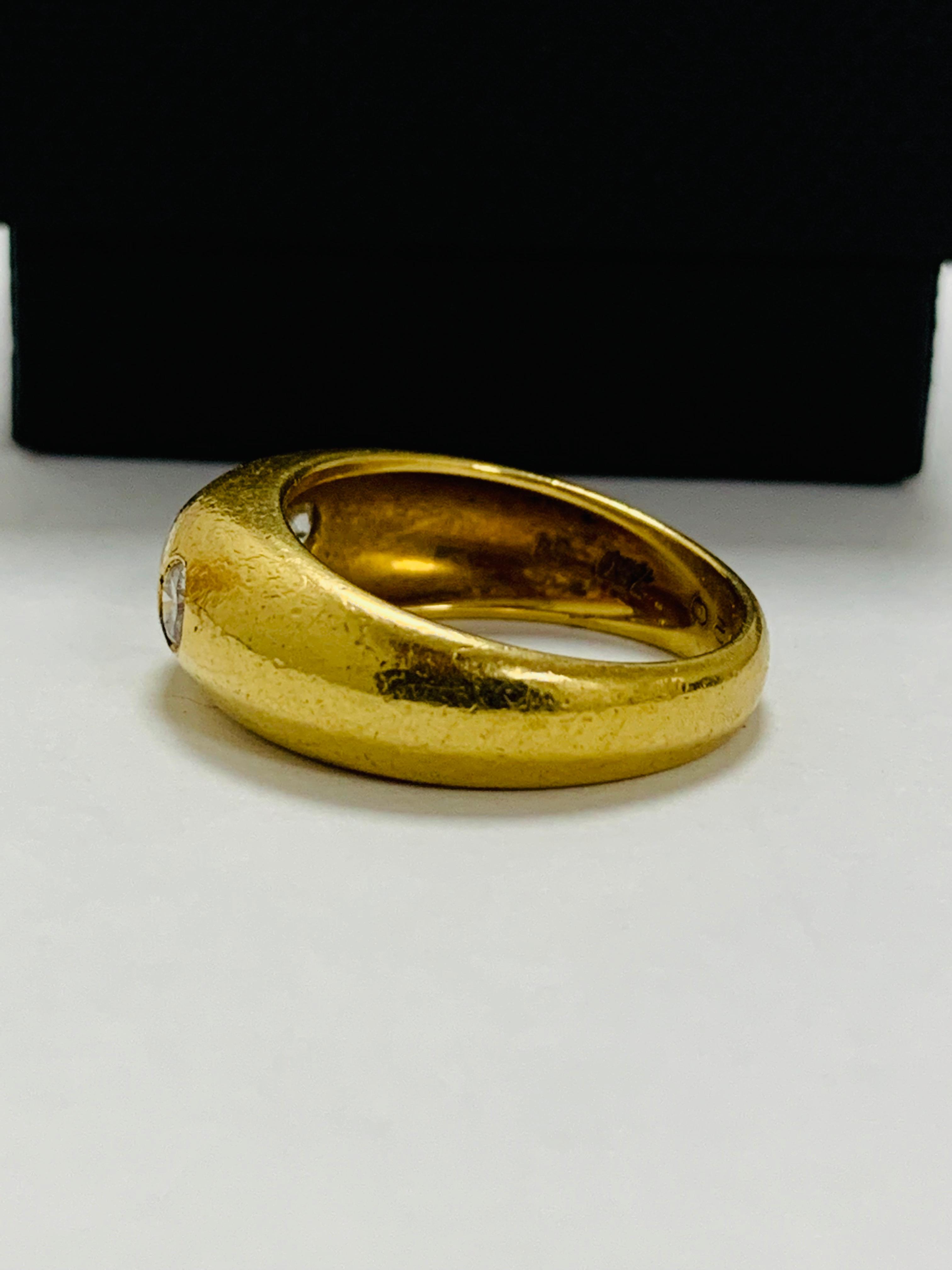 14ct white gold aquamarine & diamond pendant. - Image 5 of 14