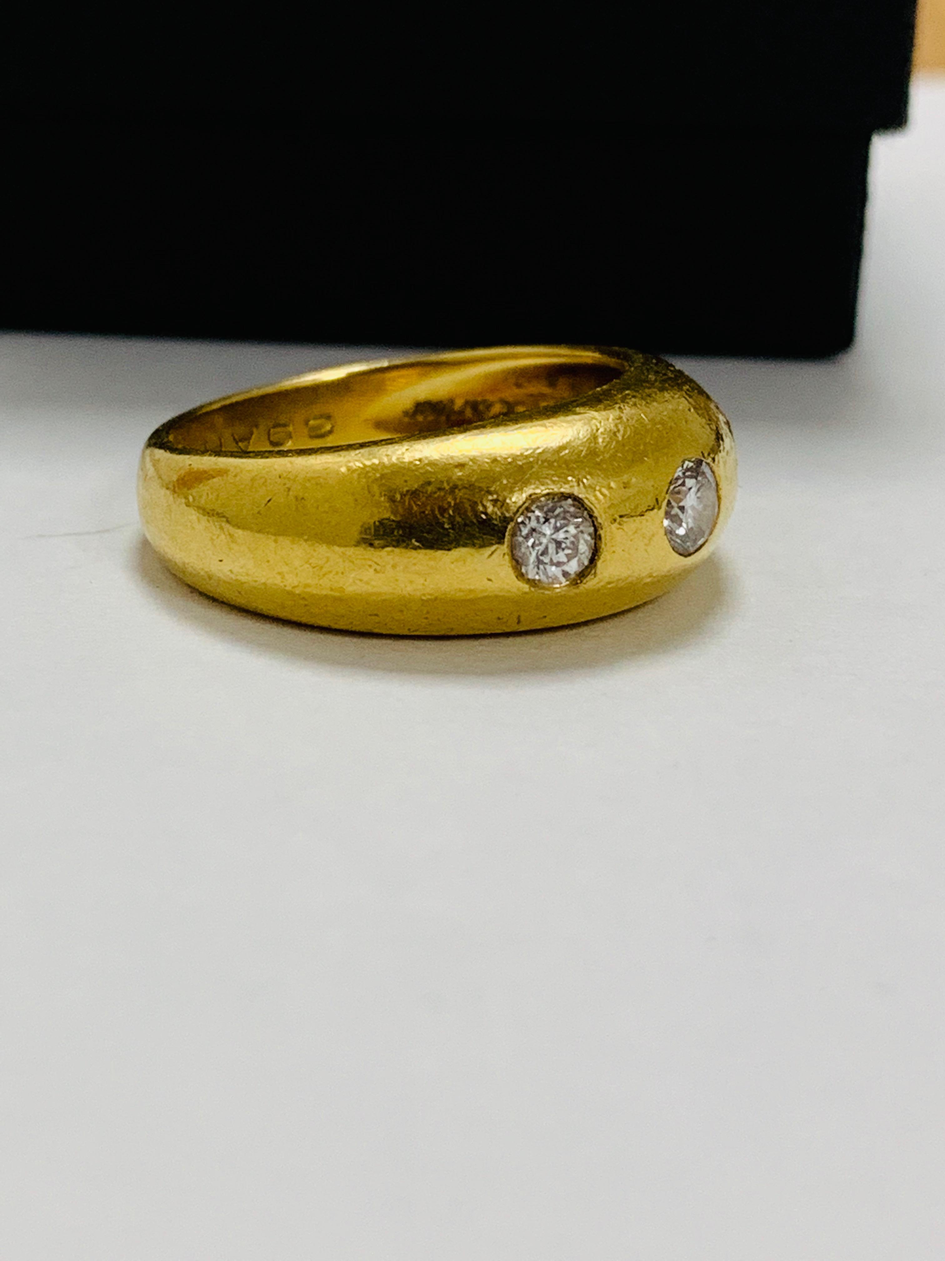 14ct white gold aquamarine & diamond pendant. - Image 9 of 14
