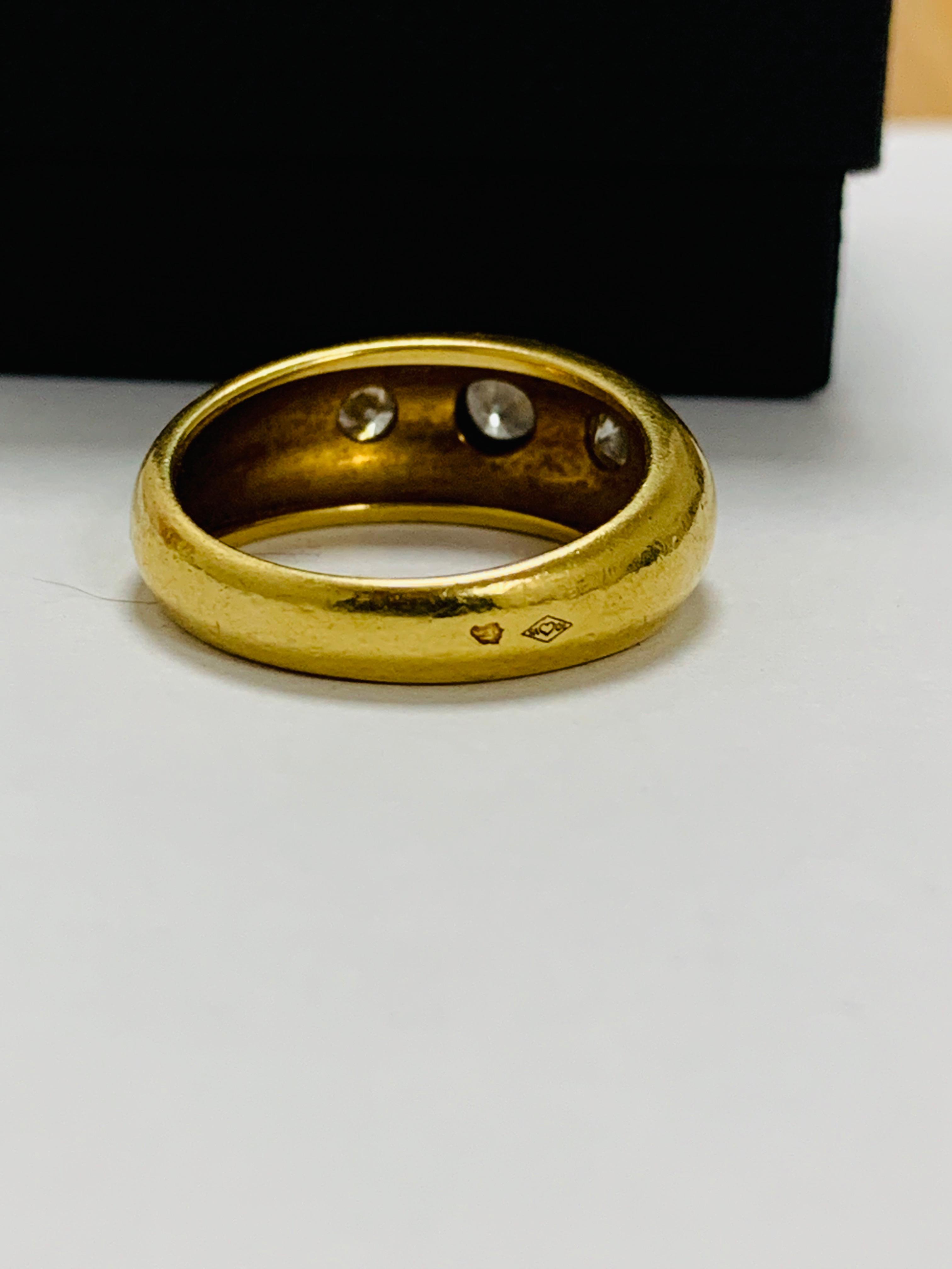 14ct white gold aquamarine & diamond pendant. - Image 7 of 14