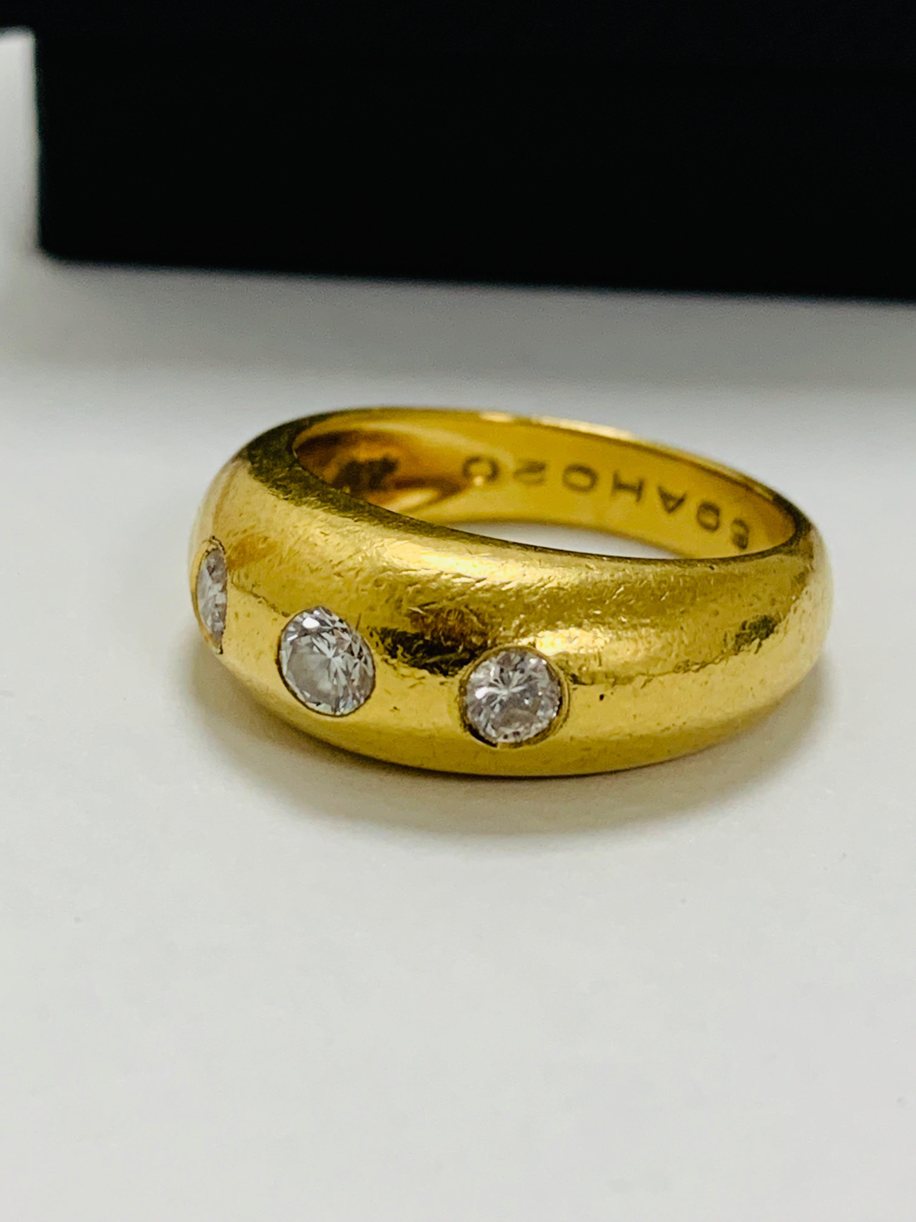 14ct white gold aquamarine & diamond pendant. - Image 3 of 14